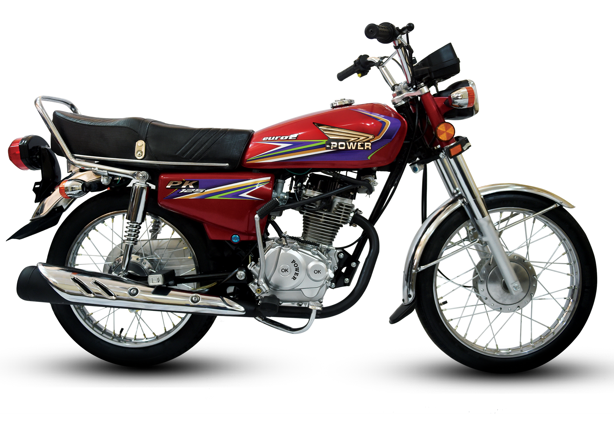 125 cc red