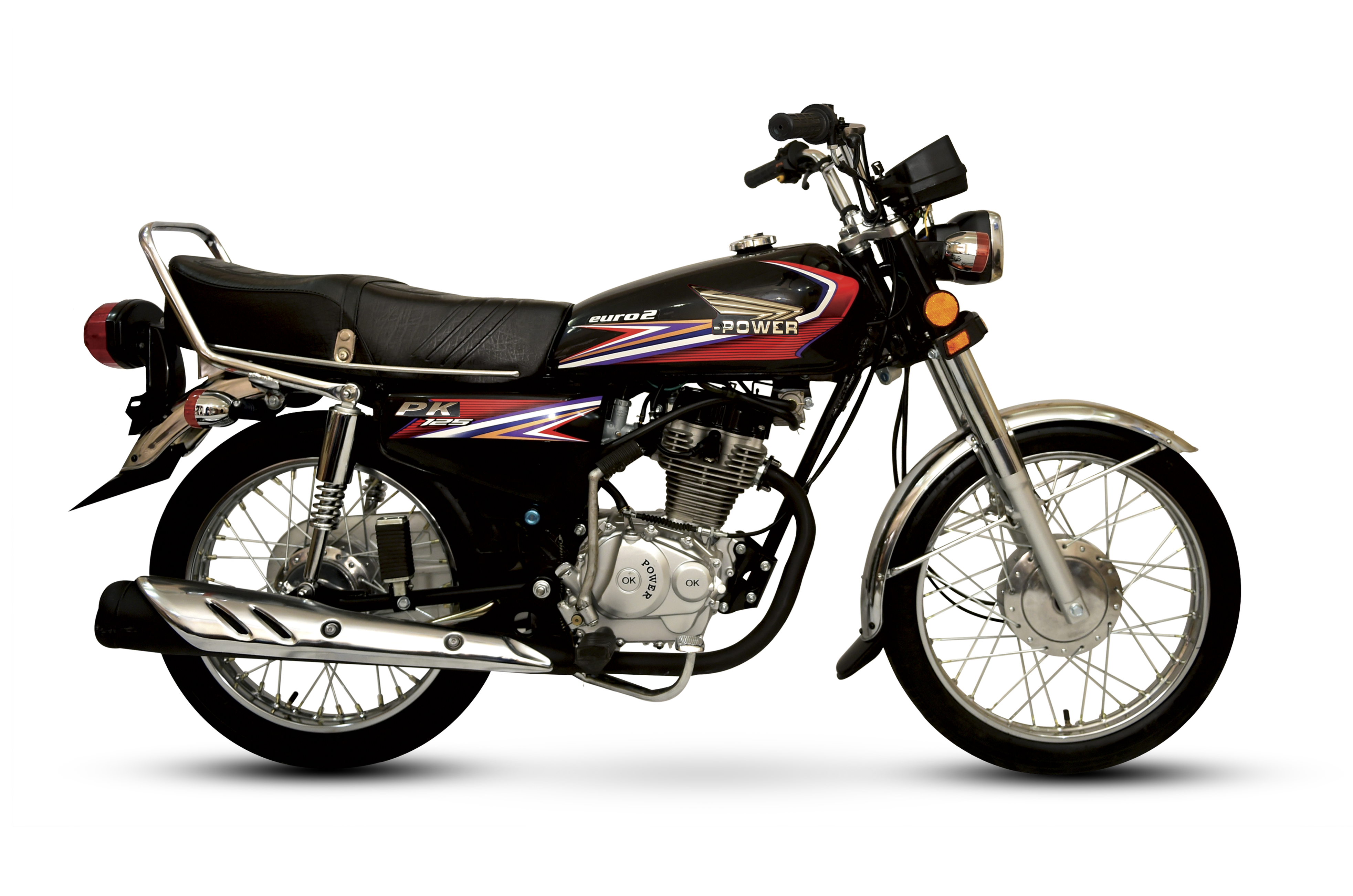 power 125cc black