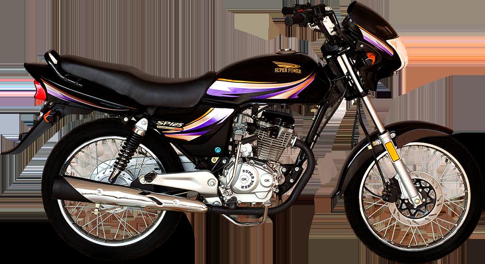 SP 125 DELUXE – BLACK