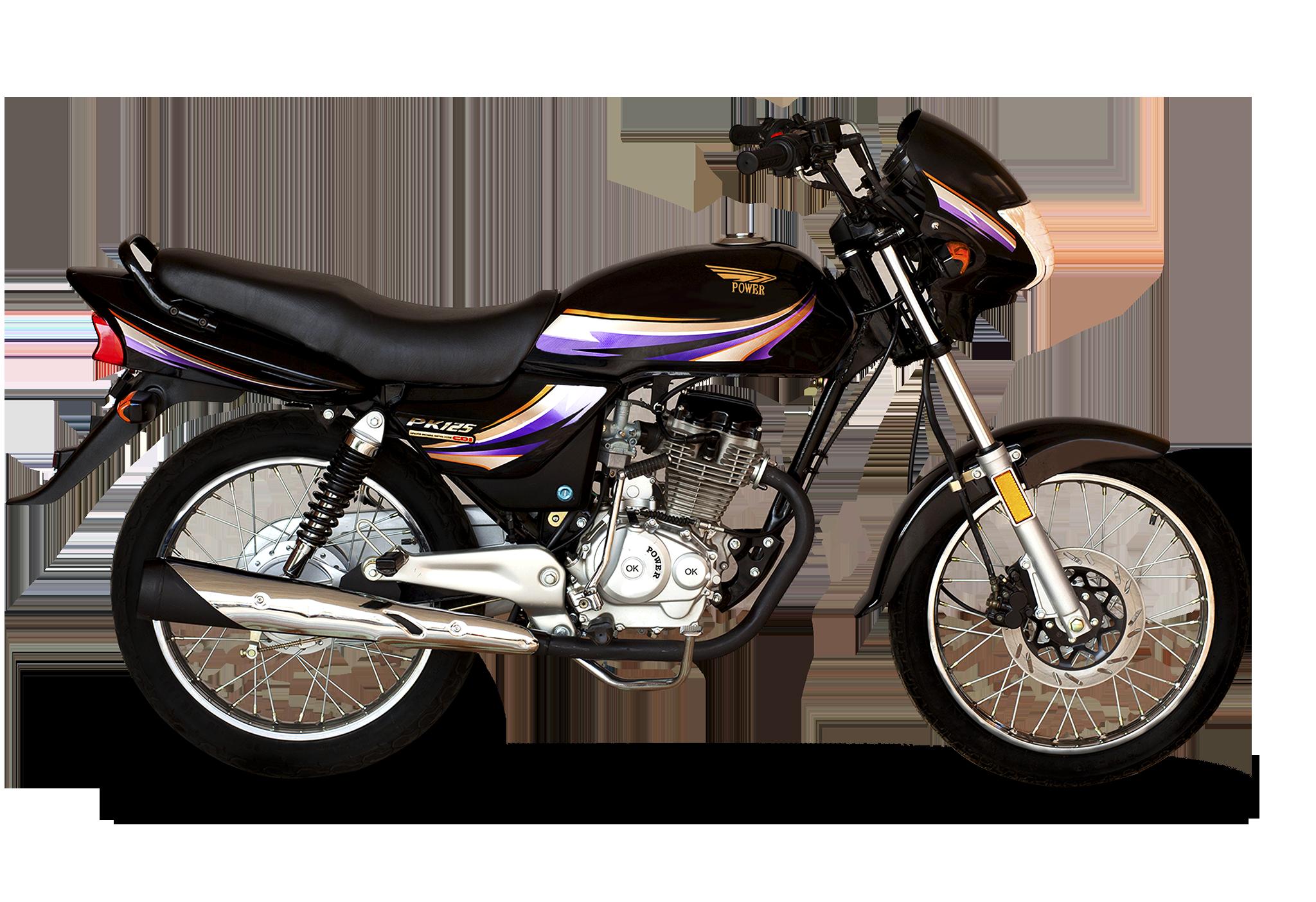 power 125cc deluxe black