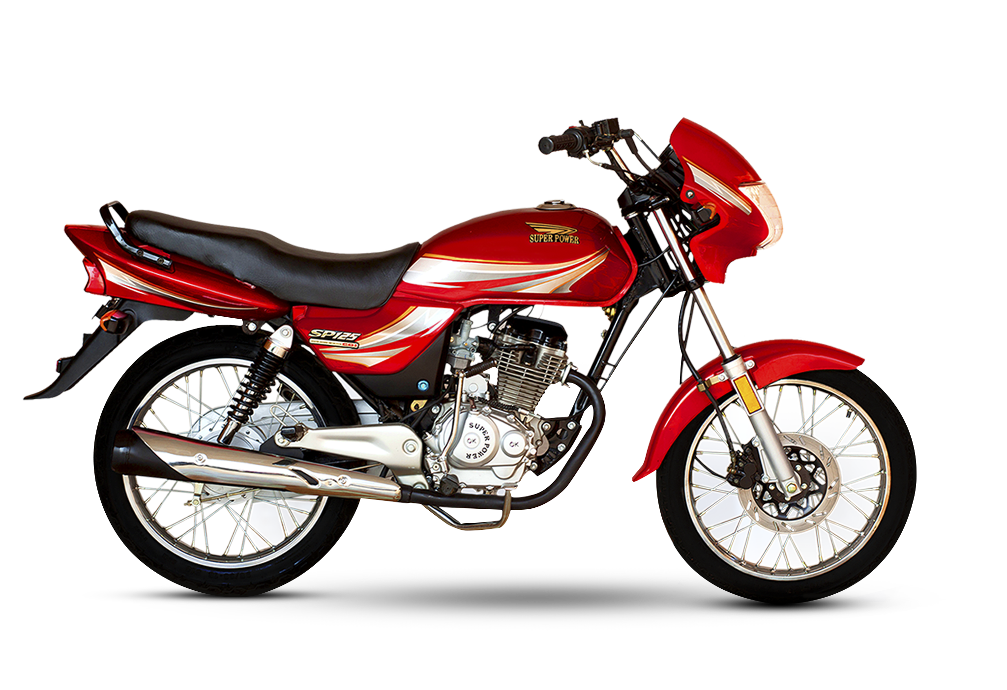 sp 125cc red deluxe